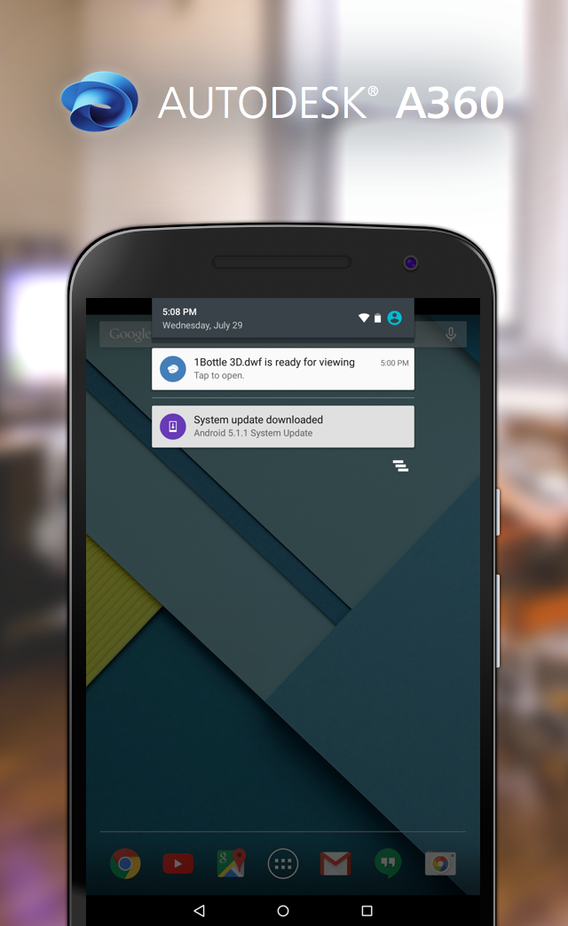 New on A360 Android: Get Notified When files Are Ready