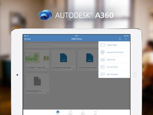 Create new folders in A360 drive