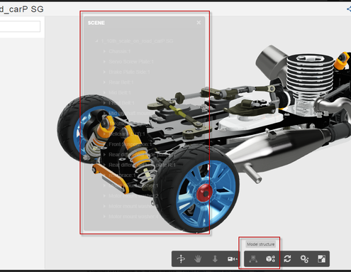 View and Search within Designs using the Large Model Viewer in A360