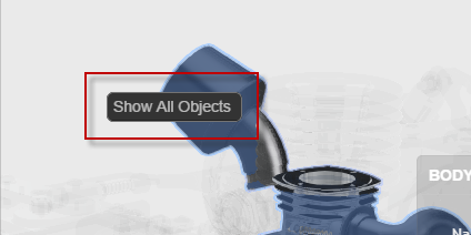 "Select ""Show All Objects"" to view"