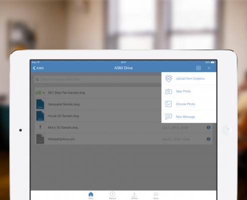 New on A360 iOS: Create new folders and more!