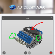 Easily markup your CAD models on A360
