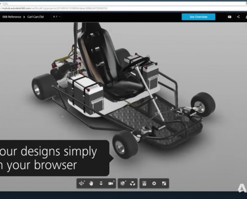 Sharing a 2D or 3D file is now as simple as clicking a button. Really. https://blog.a360.autodesk.com/a360-feature-share-files-easily/