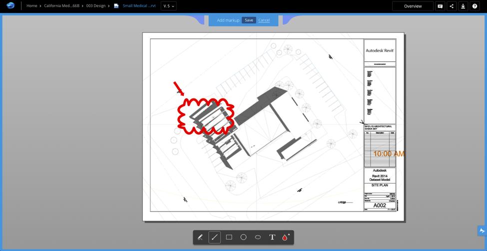 A360 Markups Design Process