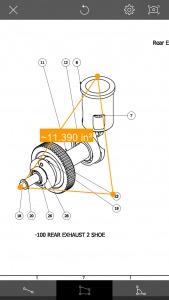 Area and angle measurement