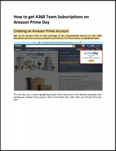 Amazon Prime Day Tutorial