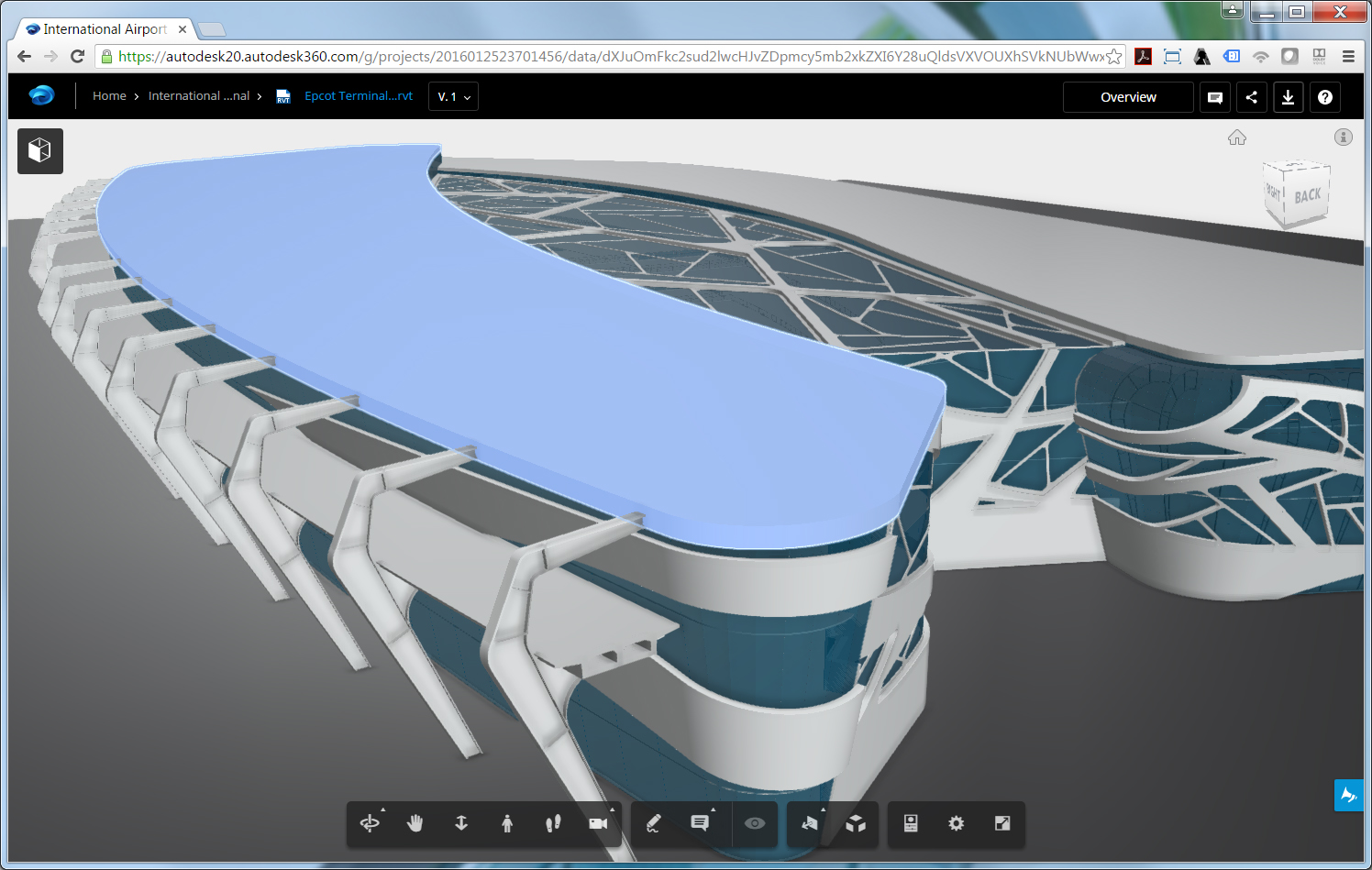 A360 Airport Model