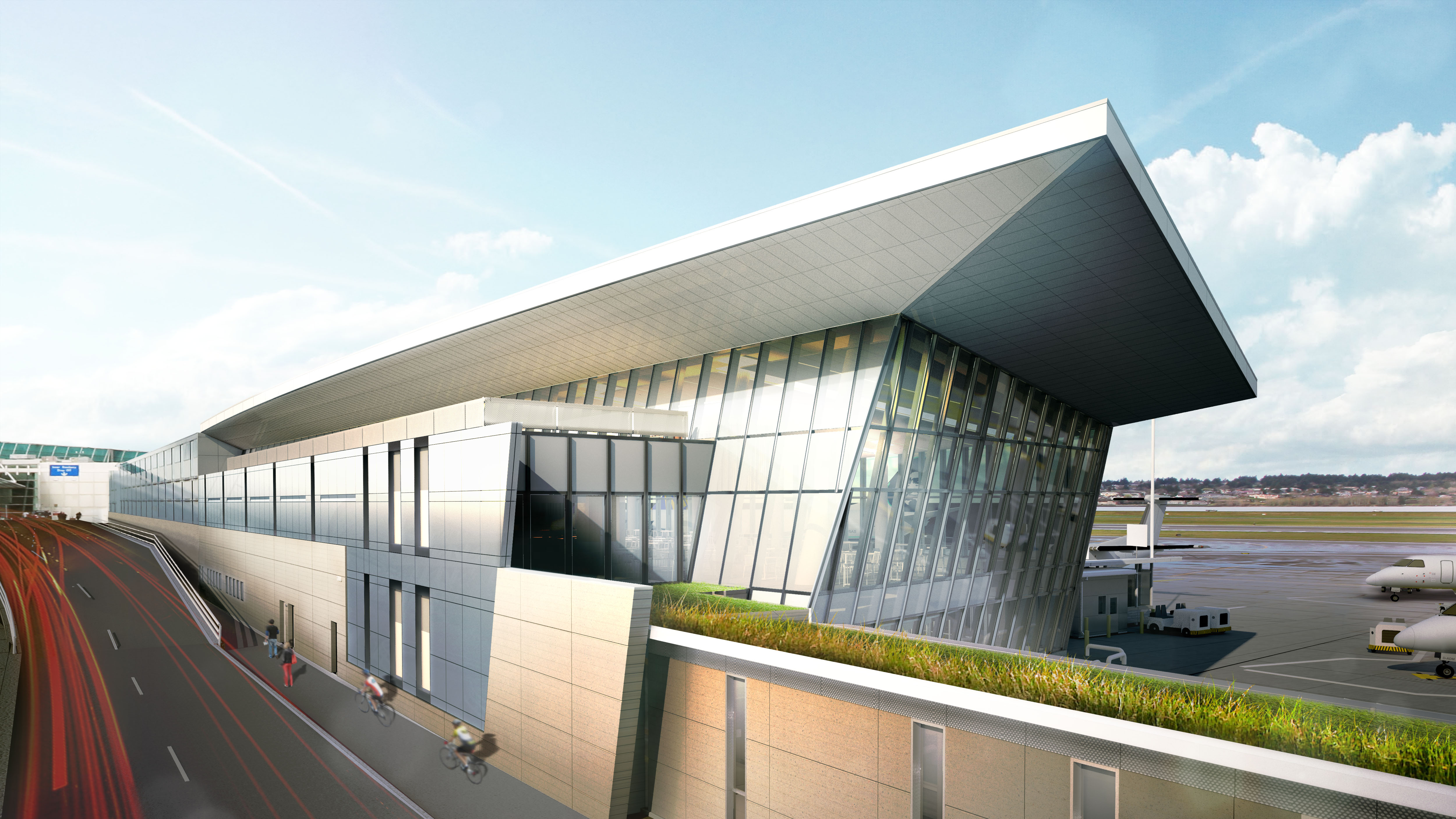 Fentress and Hennebery Eddy Architects Work as One Team to Improve Passenger Experience at the Portland International Airport